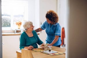 Home care food shopping and meal prep service