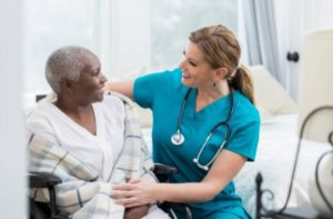 Home care living at home